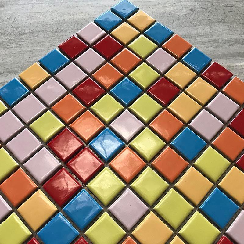 Ceramics mosaix comon glazed Mix-6-color  K88768H5B