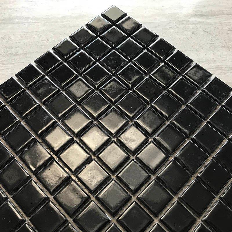 Ceramics mosaix black glaze mosaic  KQ4810B