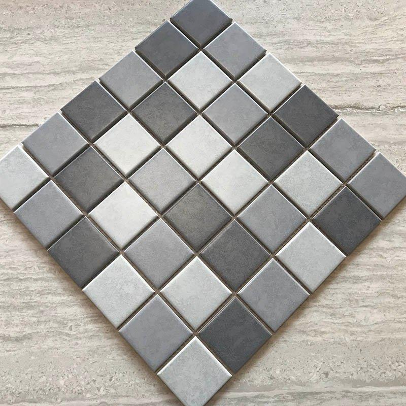 Ground wall decoration culture stone waterproof tile 300X300 mosaic  	61166