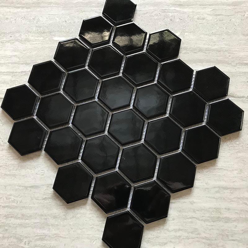 Ceramics mosaix black mosaic  IDL4810