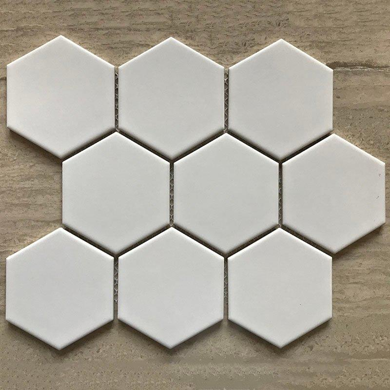 Ceramics mosaix  white glazed mosaic matt  RJ9831000